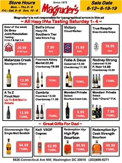 Magruder's deals in the Washington-DC weekly ad