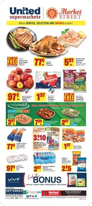 Market Street catalogue ( Published today )