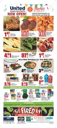 Grocery & Drug deals in the Market Street catalog ( Expires today)