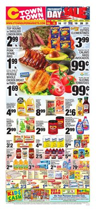 Top deals in the Ctown weekly ad in New York