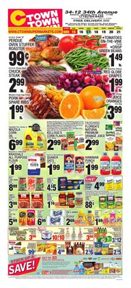 Cereals deals in the Ctown weekly ad in New York
