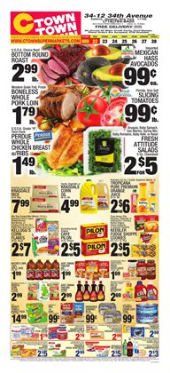 Vegetables deals in the Ctown weekly ad in New York