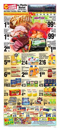 Ctown deals in the New York weekly ad
