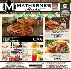 Makeup deals in the Matherne's weekly ad in Kenner LA