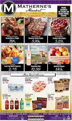 Grocery & Drug deals in the Matherne's catalog ( 1 day ago)