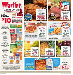 Martin's Super Markets catalogue ( Expired )