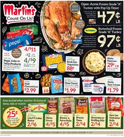 Martin's Super Markets deals in the South Bend IN weekly ad