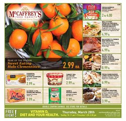 McCaffrey's deals in the Doylestown PA weekly ad
