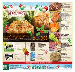 McCaffrey's deals in the Newtown PA weekly ad