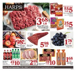 Grocery & Drug offers in the Harp's Market catalogue in Fort Smith AR ( Expires tomorrow )