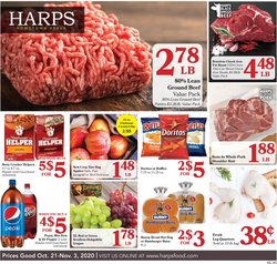 Grocery & Drug offers in the Harp's Market catalogue in Joplin MO ( 1 day ago )