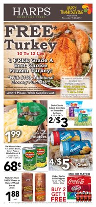 Harp's Market deals in the Oklahoma City OK weekly ad