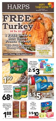 Harp's Market deals in the Fayetteville AR weekly ad