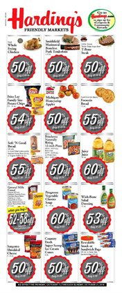Harding's Markets deals in the Allegan MI weekly ad