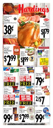 Harding's Markets deals in the Buchanan MI weekly ad