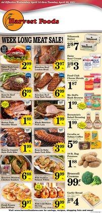 Harvest Foods catalogue ( Expires tomorrow )