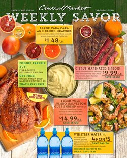 Central Market deals in the Dallas TX weekly ad
