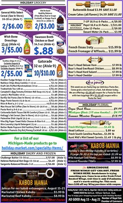 Holiday Market deals in the Livonia MI weekly ad