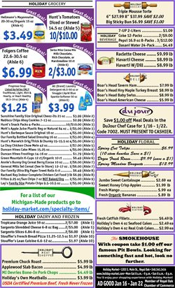 Holiday Market deals in the Royal Oak MI weekly ad