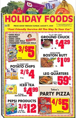 Grocery & Drug offers in the Holiday Foods catalogue in Owensboro KY ( Expires today )