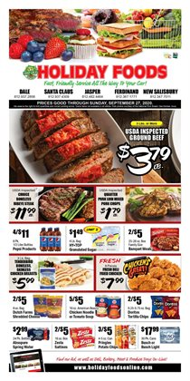 Holiday Foods catalogue ( Published today )