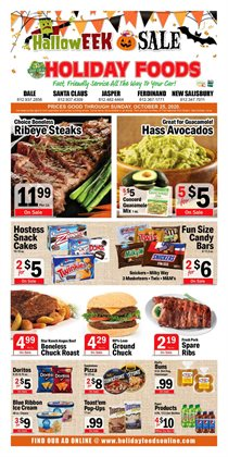 Grocery & Drug offers in the Holiday Foods catalogue in Owensboro KY ( 2 days ago )