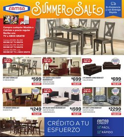Home & Furniture deals in the Famsa catalog ( Expires today)