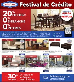 Home & Furniture deals in the Famsa catalog ( 2 days left)