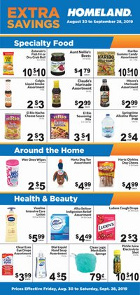 Homeland Market deals in the Oklahoma City OK weekly ad