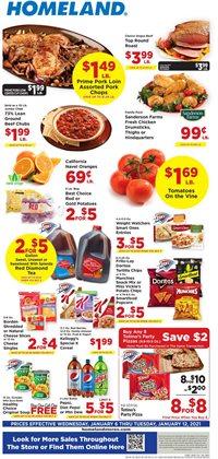 Homeland Market catalogue ( Expired )