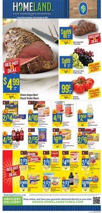 Homeland Market deals in the Homeland Market catalog ( 2 days left)