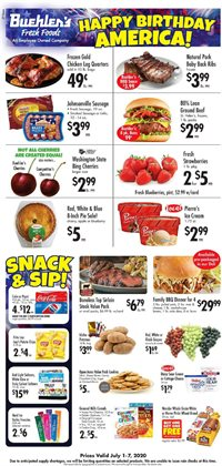 Grocery & Drug offers in the Buehler's catalogue in Mansfield OH ( 3 days left )