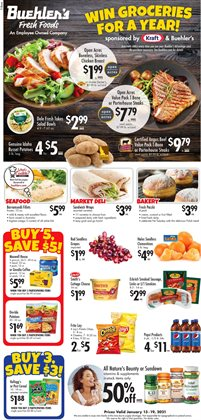 Grocery & Drug offers in the Buehler's catalogue in Massillon OH ( 2 days ago )
