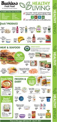 Grocery & Drug deals in the Buehler's catalog ( Expires today)