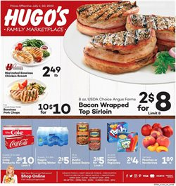 Hugo's Supermarkets catalogue ( 3 days left )