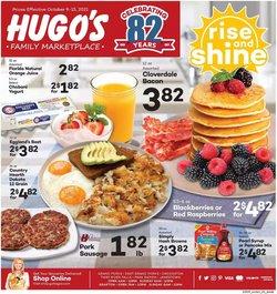 Hugo's Supermarkets deals in the Hugo's Supermarkets catalog ( Expires today)