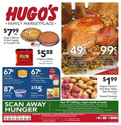 Hugo's Supermarkets deals in the Grand Forks ND weekly ad