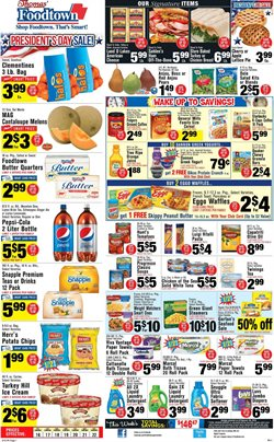 Bed deals in the Foodtown supermarkets weekly ad in New York