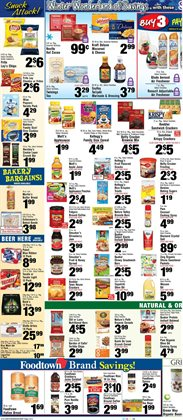 Crackers deals in the Foodtown supermarkets weekly ad in New York