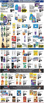 Bleach deals in the Foodtown supermarkets weekly ad in New York