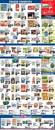 Heels deals in the Foodtown supermarkets weekly ad in New York