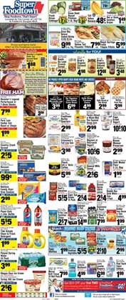 Budweiser deals in the Foodtown supermarkets weekly ad in New York