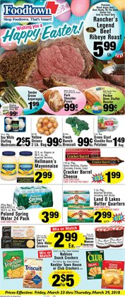 Broccoli deals in the Foodtown supermarkets weekly ad in New York