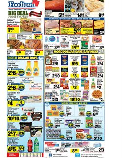 Women's shoes deals in the Foodtown supermarkets weekly ad in New York