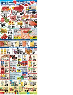 Ring deals in the Foodtown supermarkets weekly ad in New York