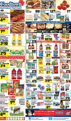 Chicken thighs deals in the Foodtown supermarkets weekly ad in New York