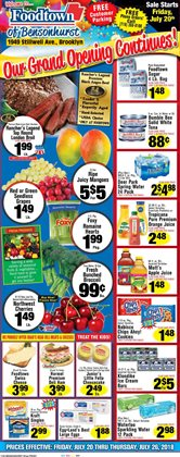 Bumble Bee deals in the Foodtown supermarkets weekly ad in New York