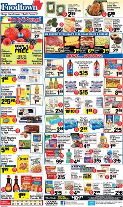 Pepsi deals in the Foodtown supermarkets weekly ad in New York