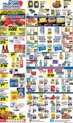Gel deals in the Foodtown supermarkets weekly ad in New York