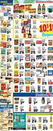Milk deals in the Foodtown supermarkets weekly ad in New York
